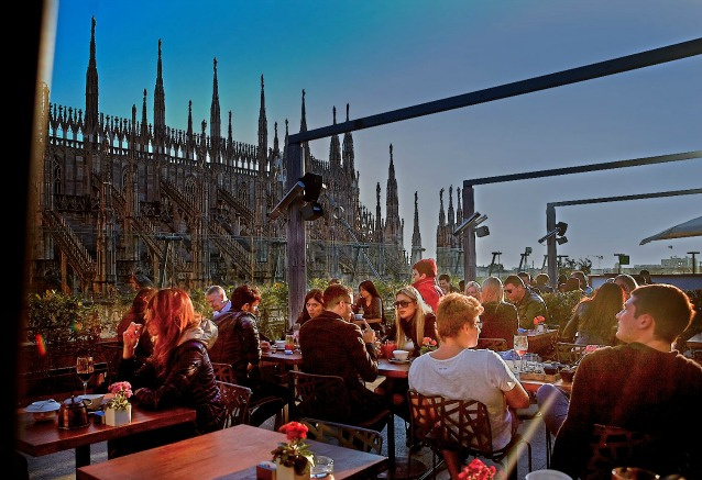 Beautiful Ristorante Terrazza Rinascente Milano Images - Design ...