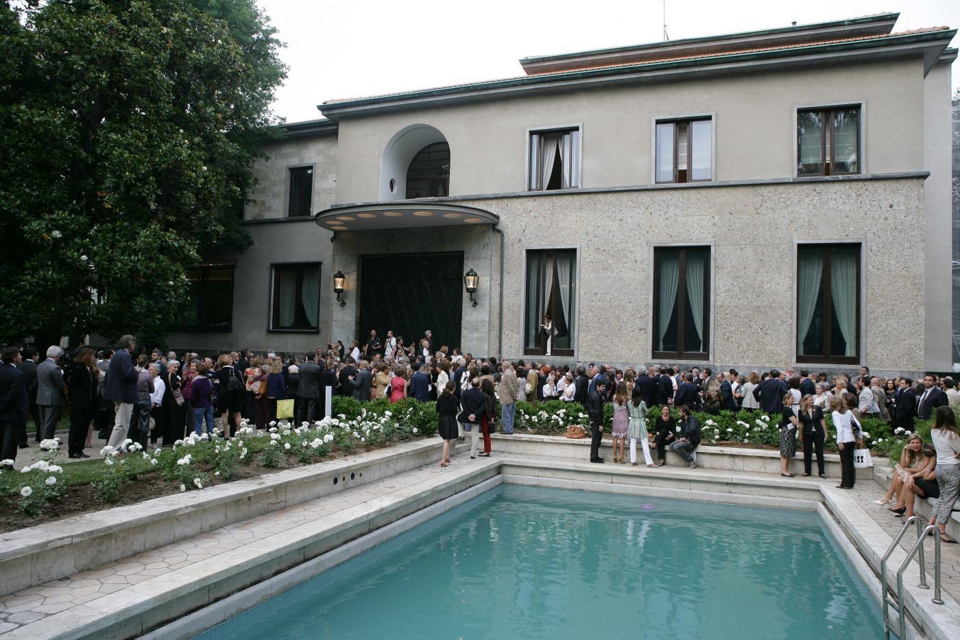 Un soffio di primavera 2016 a villa necchi campiglio oggi for Villa necchi campiglio milano