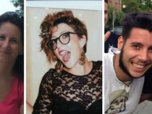 da sinistra: Micaela Masella, Chiara Magnamassa e Riccardo Maglianesi