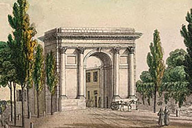 Barriera di Porta Vercellina a Milano