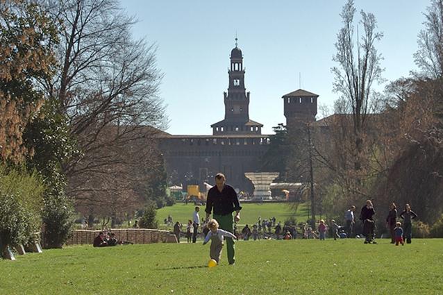 Parco Sempione a Milano