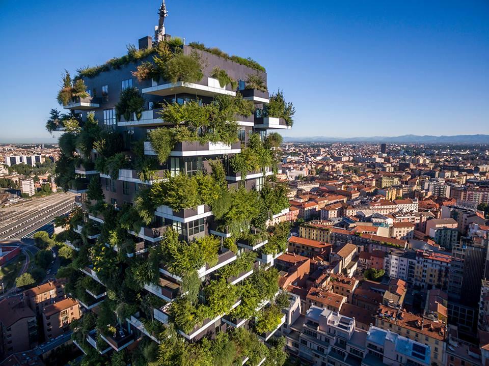 Il bosco verticale compie due anni gli auguri del suo for Bosco verticale architetto