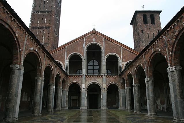 basilica di sant 39 ambrogio a milano orari visite e storia