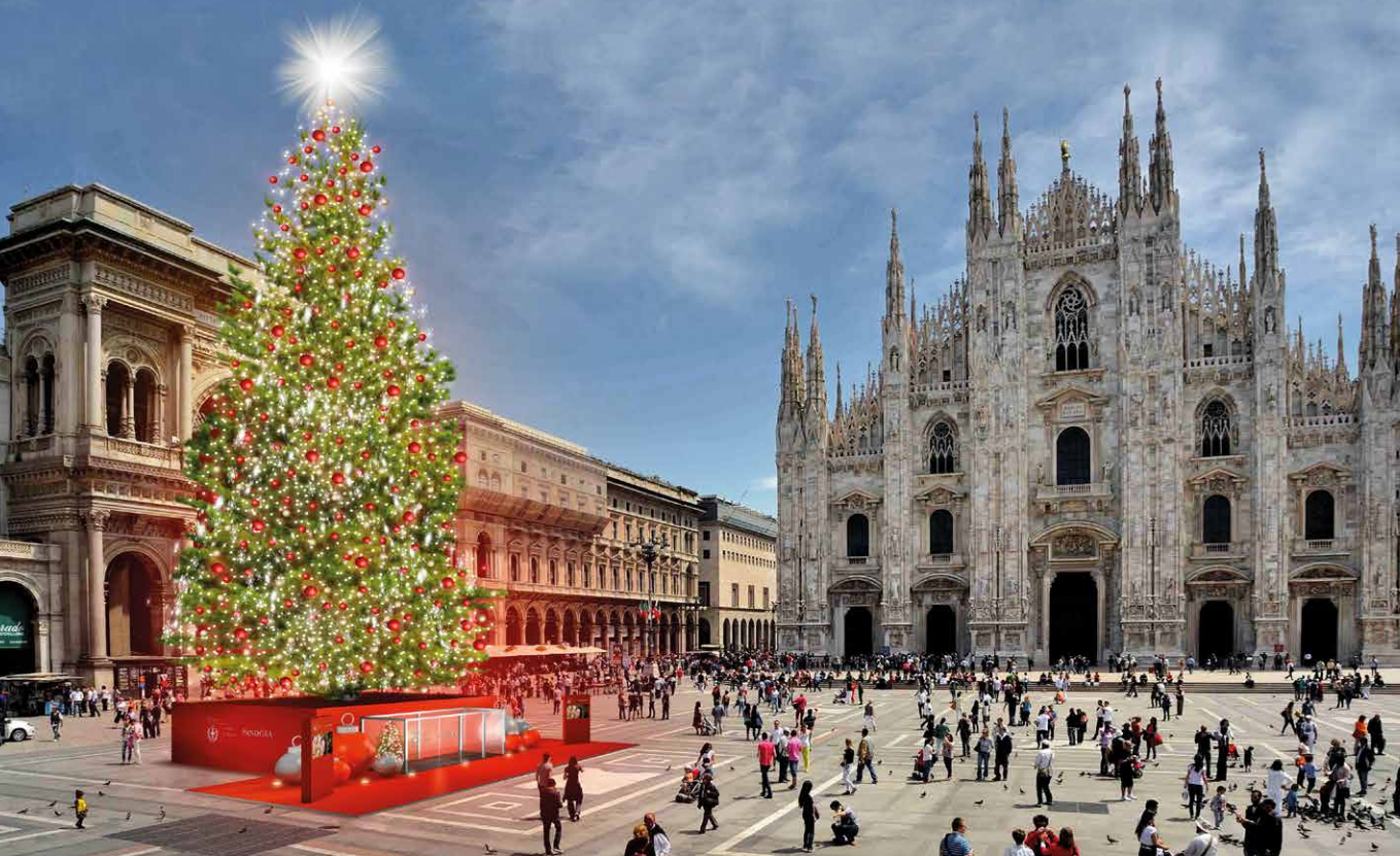Natale 2016 milano dal 6 dicembre si accende l 39 albero di - Mercatino di natale piazza mazzini roma ...