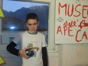 Francesco, il bambino di 12 anni che è già direttore di un museo