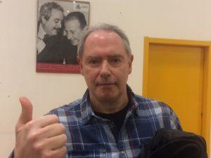 Il candidato sindaco M5s, Danilo Sindoni