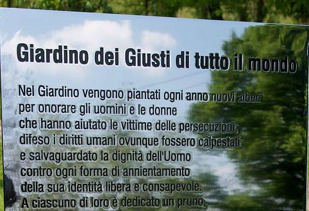 Milano celebra i giusti del dialogo convegno a palazzo marino e cerimonia al monte stella - Il giardino dei giusti ...