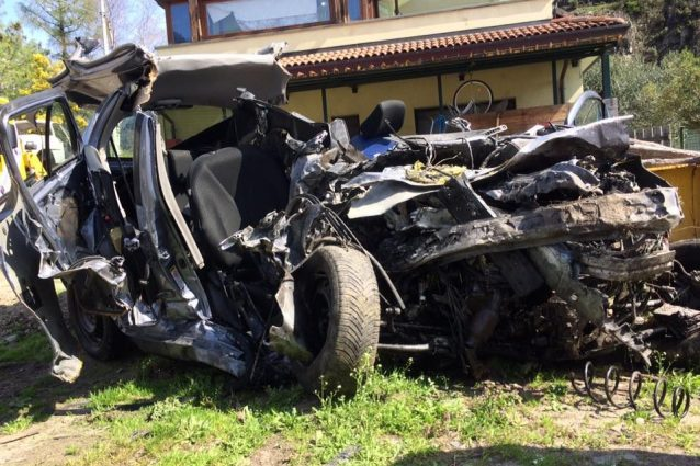 Samolaco, grave incidente stradale