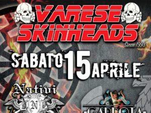 Varese, il 15 aprile il concerto dei neonazisti per il compleanno di Hitler