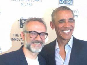 Lo chef stellato Bottura porta la sua mensa per poveri negli Usa: sponsor Barack e Michelle Obama