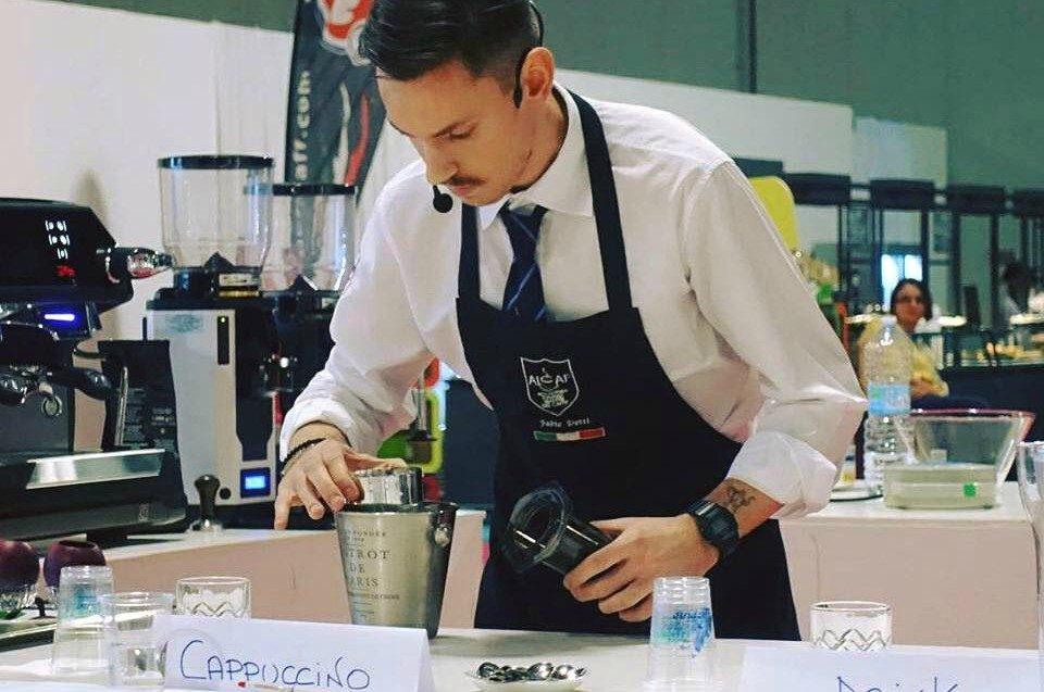 Il miglior caff del mondo di fabio dotti 21enne barista di brescia - Caffe cucina brescia ...