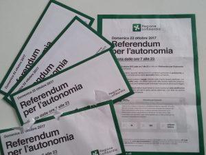 Referendum per l'autonomia in Lombardia: alle 19 affluenza oltre il 31 per cento