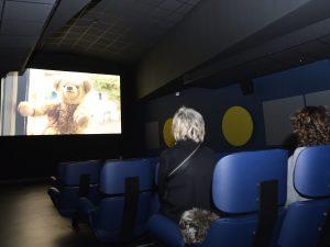 Il cinema per i pazienti della Pediatria agli Spedali Civili (LaPresse)