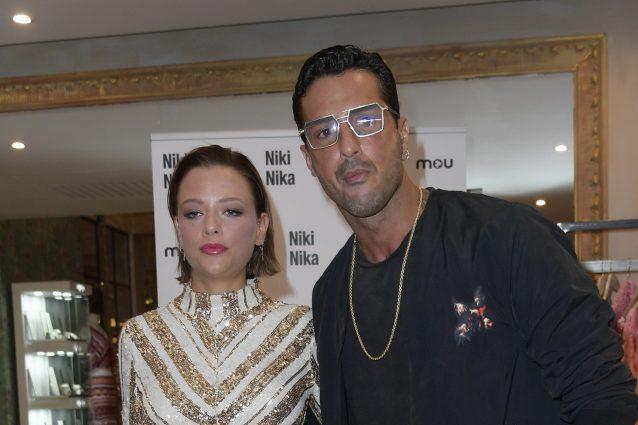 Fabrizio Corona e la fidanzata Silvia Provvedi