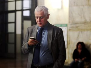 Roberto Formigoni in tribunale