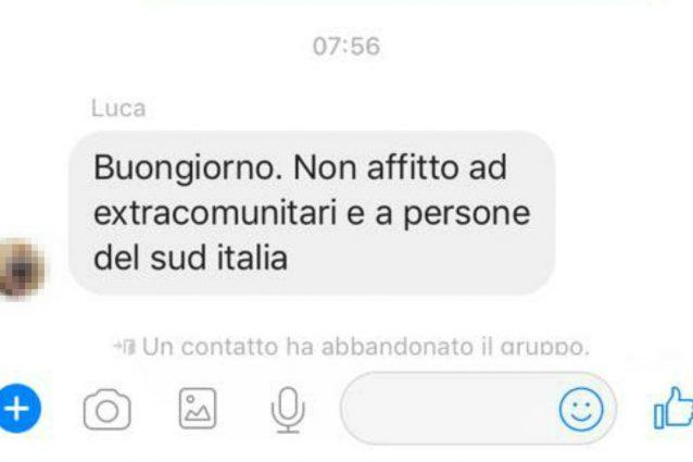 La risposta ricevuta da Fabio De Pinto, giovane barese in cerca di una casa a Milano