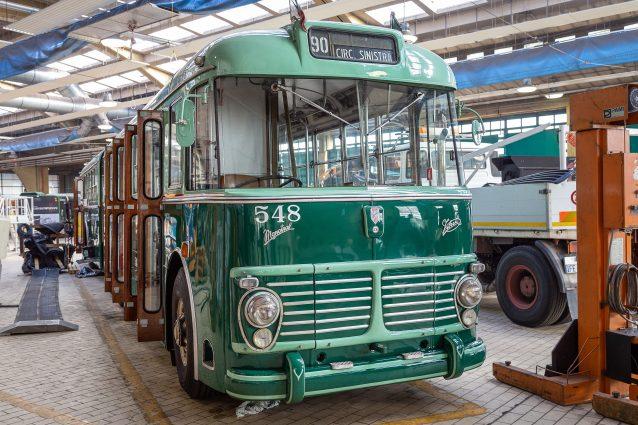 Il filobus restaurato