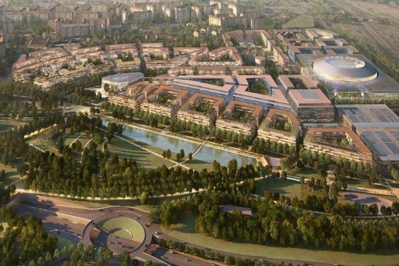 Olimpiadi 2026 dal pala italia santa giulia al villaggio for Villaggio olimpico