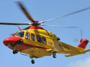 Incidente sulla Provinciale a Montichiari: 4 feriti, grave una ragazzina soccorsa con l'elicottero