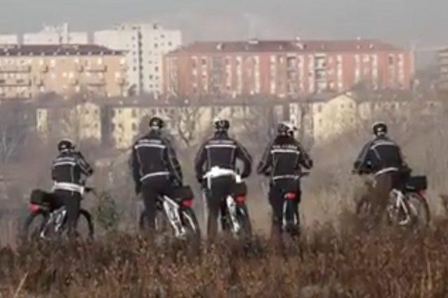 Milano, al parco Cassinis arrivano i vigili in mountain bike