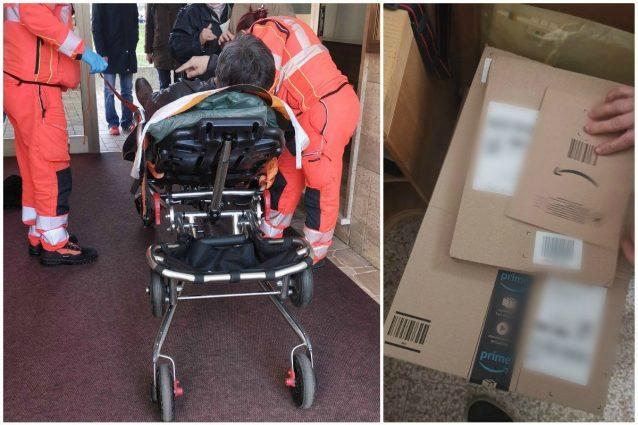 Milano, corrieredi Amazon litiga con un cliente: lo prende