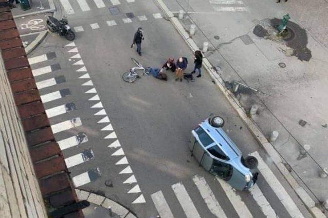 Milano, incidente stradale in via Montevideo: ragazza di 16