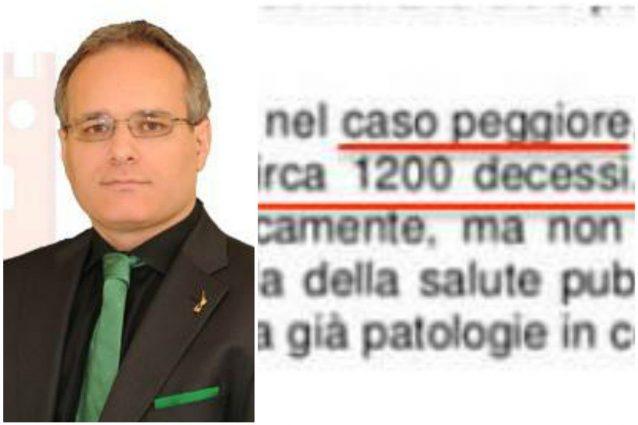 Coronavirus, il sindaco di Saronno sbaglia la statistica e i