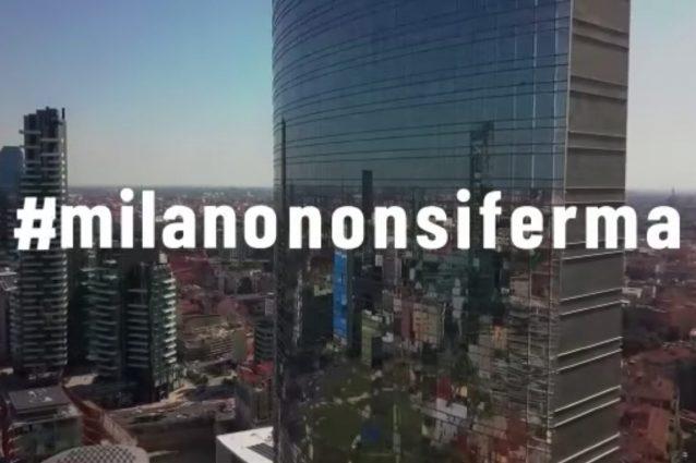 """""""Milano non si ferma"""": il video di incoraggiamento contro il"""