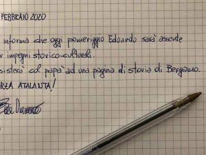 Champions, Atalanta Valencia: il sindaco di Bergamo Gori pos