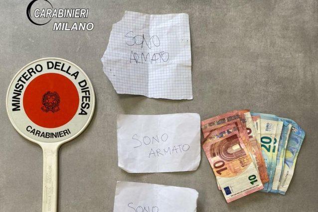 Milano, arrestato rapinatore seriale di farmacie: si present