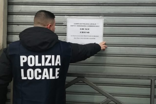 Milano, attività chiuse e multe per 40mila euro dopo tre ope