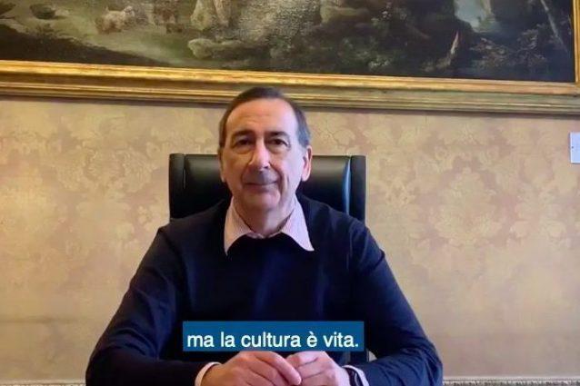 """Coronavirus, Milano riparte dalla cultura, Sala: """"Ho chiesto"""