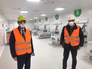 Coronavirus, ospedale in Fiera a Milano: ridimensionato il p
