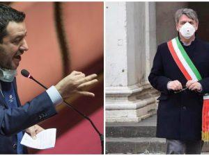 """Brescia, Salvini: """"Togliere tassa su trasporto bare"""". Il sin"""