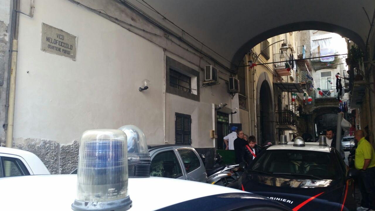 Via Sedile Di Porto 51.Napoli Sparatoria Nella Zona Universitaria Di Via Mezzocannone