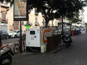 Napoli, mezz'ora di black-out in tutta la città da Santa Lucia a Gianturco