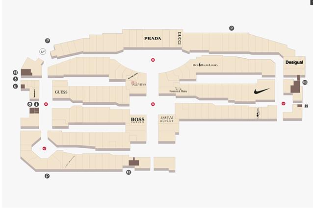 Outlet La Reggia a Caserta: orari, negozi e mappa