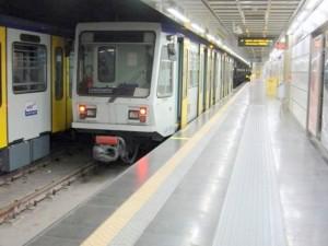 Fermata della Linea 6 della metropolitana di Napoli.