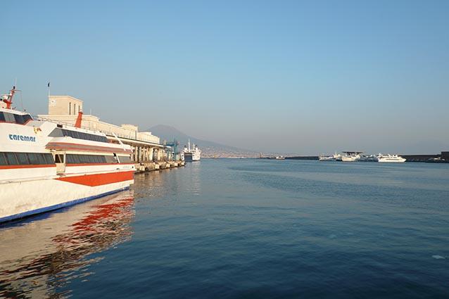 Molo Beverello, Napoli.