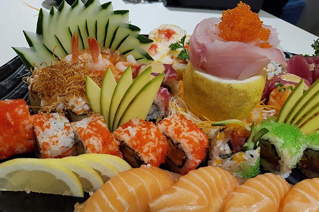 Specialità del ristorante Hachi al Vomero
