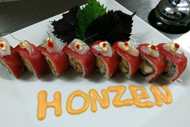 Sushi del ristorante Honzen