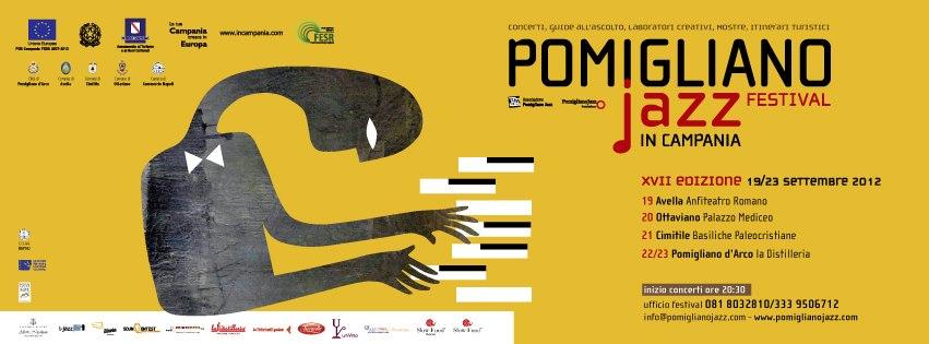 La locandina del Pomigliano Jazz Festival