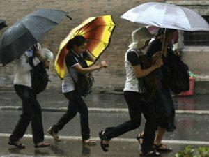 Allerta meteo in Campania, previste piogge dalle 14 di oggi, giovedì 6 aprile