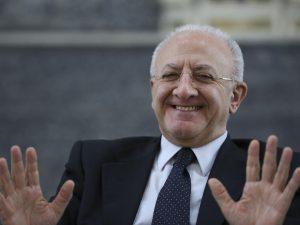 Il presidente Vincenzo De Luca nominato commissario alla Sanità in Campania