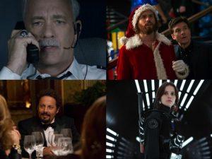 Alcuni dei film in programmazione al cinema a dicembre 2016.