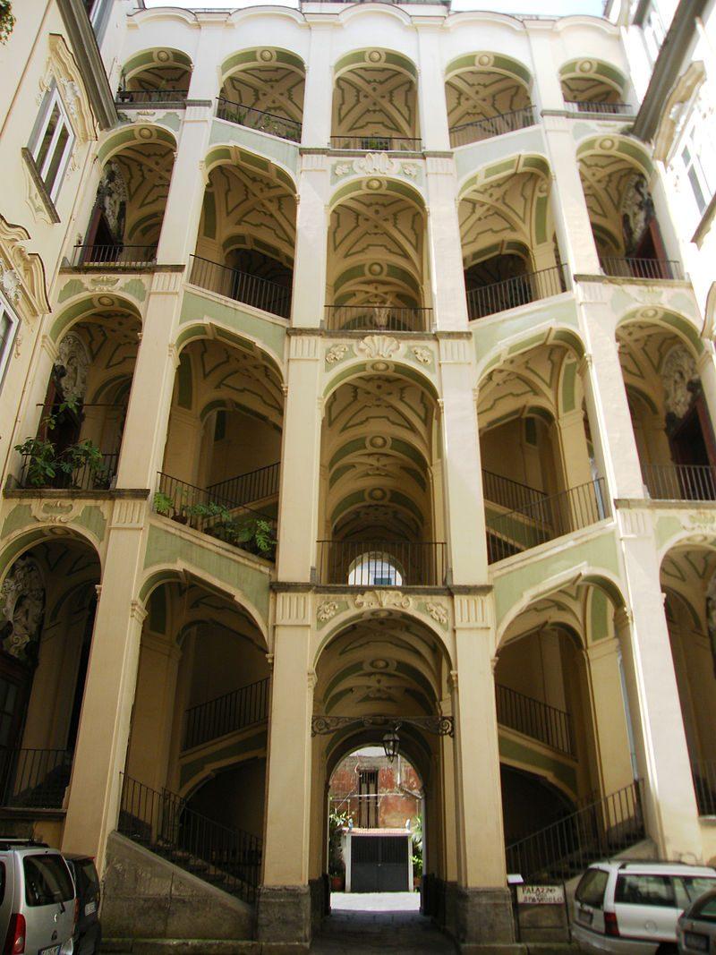 Palazzo dello Spagnolo al Rione Sanità