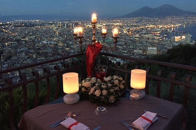 I 7 ristoranti più romantici di Napoli