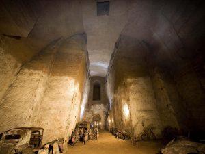 Un tratto del Tunnel Borbonico