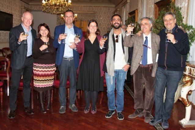 """""""I bastardi di Pizzofalcone"""": il cast della fiction Rai al Comune di Napoli"""
