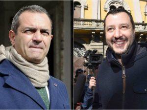 """Salvini all'assalto di De Magistris: """"Ti sfido ad un confronto pubblico"""""""
